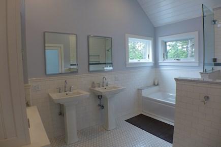 West Tisbury Martha's Vineyard vacation rental - 2nd fl Master ensuite bathroom