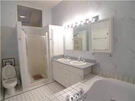 West Tisbury Martha's Vineyard vacation rental - Master bathroom.