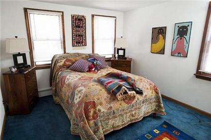 Oak Bluffs Martha's Vineyard vacation rental - Downstairs bedroom (side window not shown)