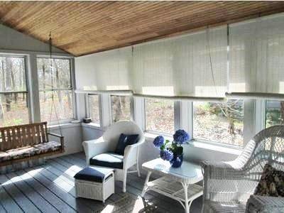 Katama - Edgartown, Edgartown (Katama) Martha's Vineyard vacation rental - Screened porch