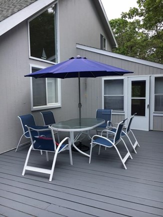 Katama - Edgartown, Edgartown (Katama) Martha's Vineyard vacation rental - Huge front deck around house
