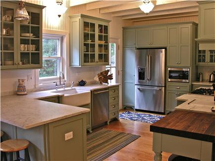 Oak Bluffs Martha's Vineyard vacation rental - Gourmet Kitchen, farm sink and marble counters