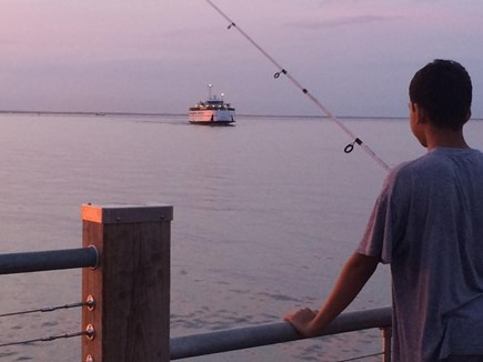Oak Bluffs Martha's Vineyard vacation rental - View from Oak Bluffs fishing pier