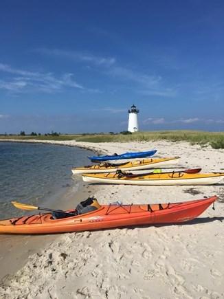 Oak Bluffs Martha's Vineyard vacation rental - Beach at Egdartown Light