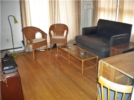 Oak Bluffs Martha's Vineyard vacation rental - Living area open to kitchen deck and screen porch