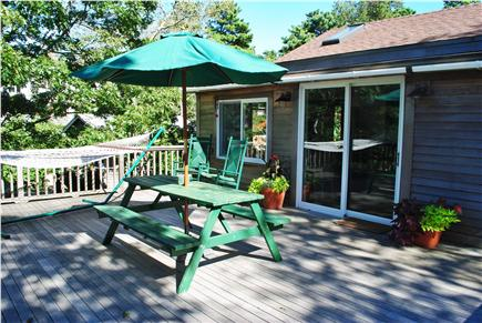 Oak Bluffs Martha's Vineyard vacation rental - Spacious deck and walk-out kitchen