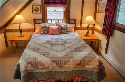 Vineyard Haven Martha's Vineyard vacation rental - Upstairs dormer bedroom with queen bed