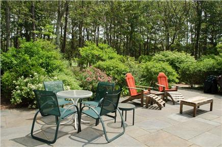Vineyard Haven Martha's Vineyard vacation rental - Patio off Great Room