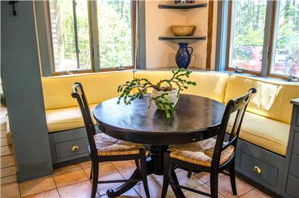 Vineyard Haven Martha's Vineyard vacation rental - Modern kitchen with breakfast nook