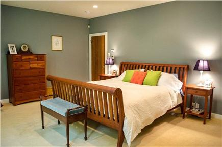 Vineyard Haven Martha's Vineyard vacation rental - Master Bedroom (king) with en suite master bath