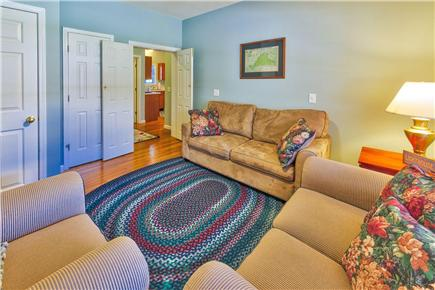 Oak Bluffs Martha's Vineyard vacation rental - Den with full size sleeper sofa