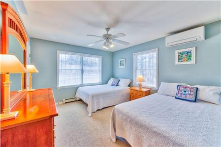 Oak Bluffs Martha's Vineyard vacation rental - Front guest room with two full beds