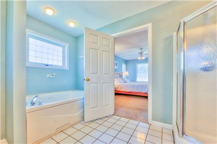 Oak Bluffs Martha's Vineyard vacation rental - Master bathroom with jacuzzi