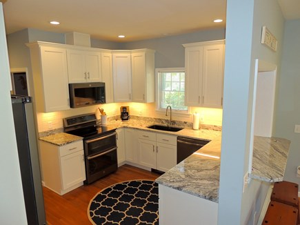 Oak Bluffs Martha's Vineyard vacation rental - Kitchen from living room