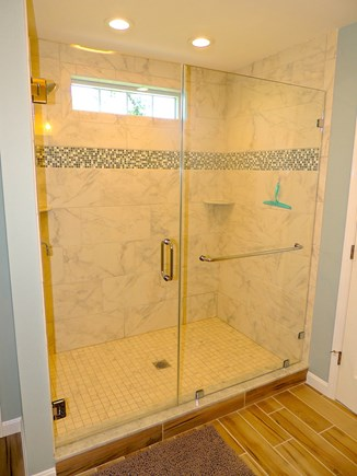 Oak Bluffs Martha's Vineyard vacation rental - Master bathroom with large tiled shower
