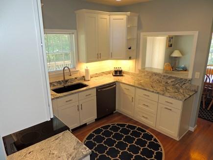 Oak Bluffs Martha's Vineyard vacation rental - Kitchen from hallway outside den