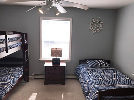 Oak Bluffs Martha's Vineyard vacation rental - Rear bedroom with one bunk and one twin bed