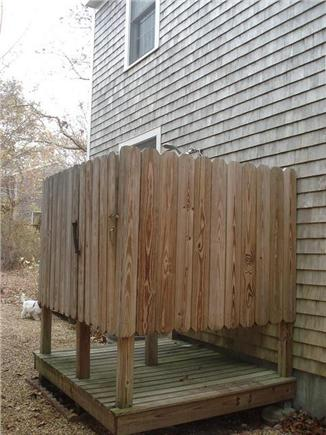 Oak Bluffs Martha's Vineyard vacation rental - Outdoor shower with changing area