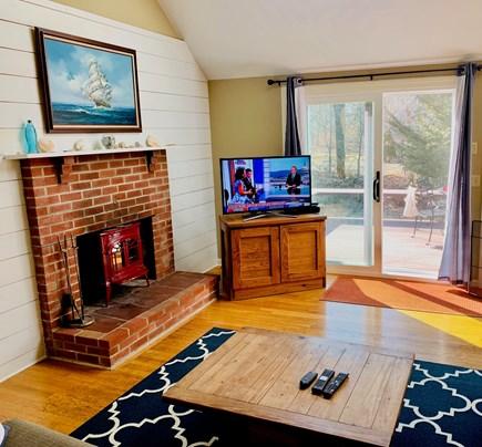 Katama - Edgartown, Edgartown Martha's Vineyard vacation rental - Living Room Out To Deck