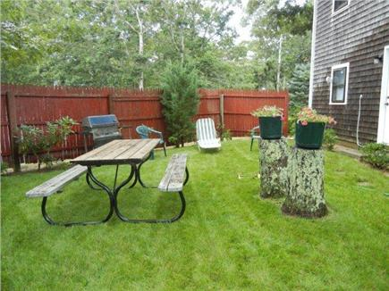 Edgartown Martha's Vineyard vacation rental - Back yard