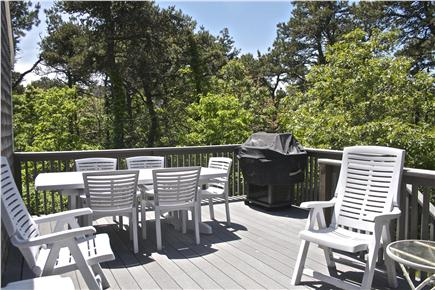 Katama - Edgartown Martha's Vineyard vacation rental - Main patio with brand new gas grill