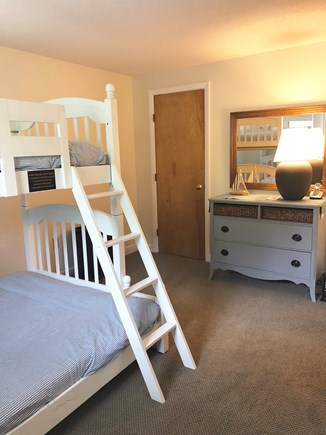 Katama - Edgartown Martha's Vineyard vacation rental - Bedroom #4: Bunkbeds (downstairs - twin on top, full on bottom)