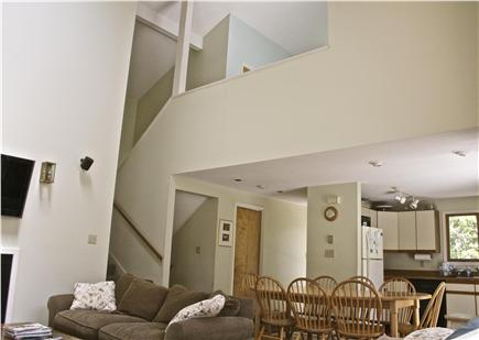 Katama - Edgartown Martha's Vineyard vacation rental - View of living and loft area