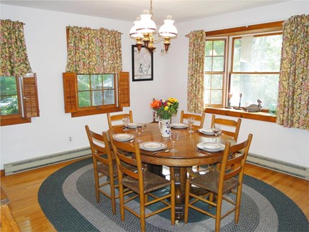 West Tisbury Martha's Vineyard vacation rental - Bright dining area with bay window