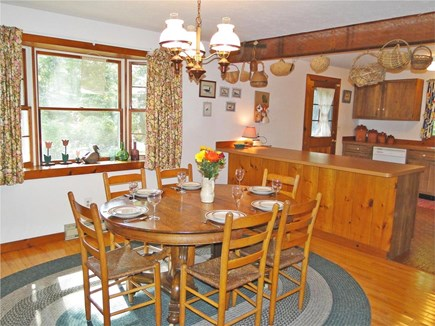 West Tisbury Martha's Vineyard vacation rental - Dining area adjacent to kitchen
