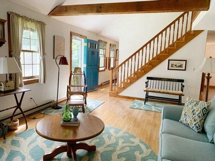 West Tisbury Martha's Vineyard vacation rental - Attractive woodwork throughout; stairs to 2 bedrooms, bathroom