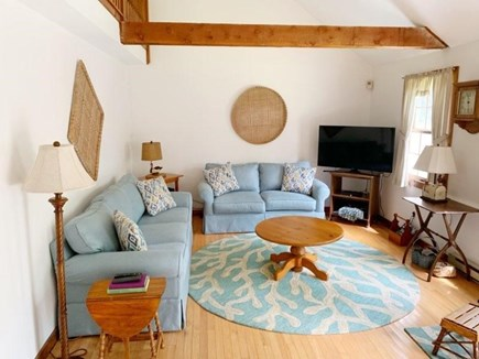 West Tisbury Martha's Vineyard vacation rental - Living room includes flatscreen TV