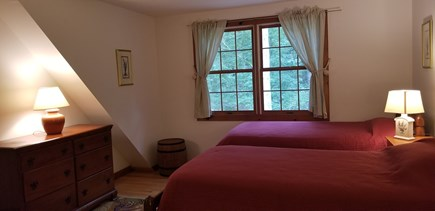West Tisbury Martha's Vineyard vacation rental - Upstairs twin bedroom