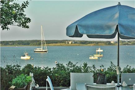 Katama - Edgartown Martha's Vineyard vacation rental - Main House View From Deck