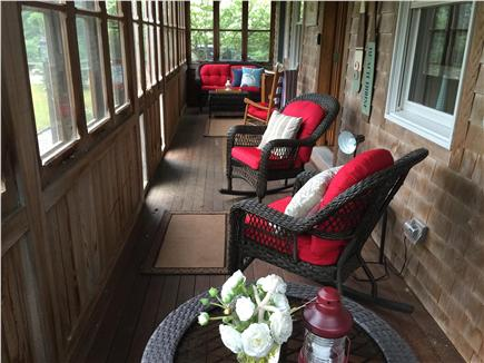 Edgartown Martha's Vineyard vacation rental - Enjoy a relaxing beverage or snack on the 3-season porch