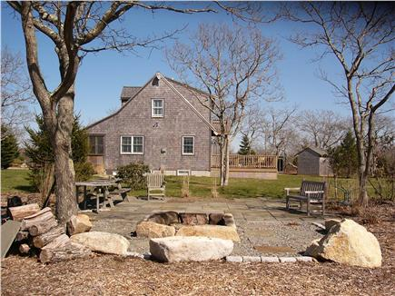 Edgartown Martha's Vineyard vacation rental - Lovely evenings with family/friends near firepit, bring guitar!