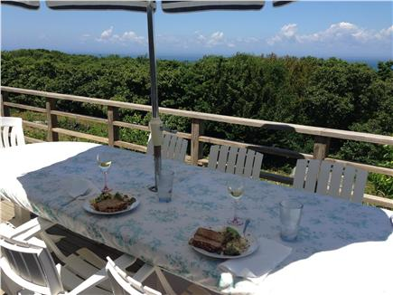 Aquinnah Martha's Vineyard vacation rental - Views from the deck to the Atlantic Ocean
