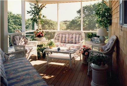 Aquinnah Martha's Vineyard vacation rental - Enjoy the sounds of summer on the screened porch