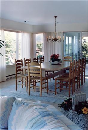 Aquinnah Martha's Vineyard vacation rental - Elegant Dining Room seats 10 comfortably