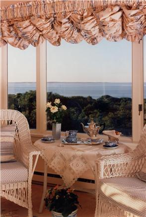Aquinnah Martha's Vineyard vacation rental - Seating area in the master bedroom