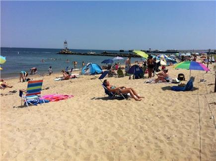 Oak Bluffs, East Chop Martha's Vineyard vacation rental - Beach five minute walk from the house