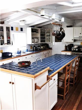 Oak Bluffs, East Chop Martha's Vineyard vacation rental - Kitchen looking towards living room