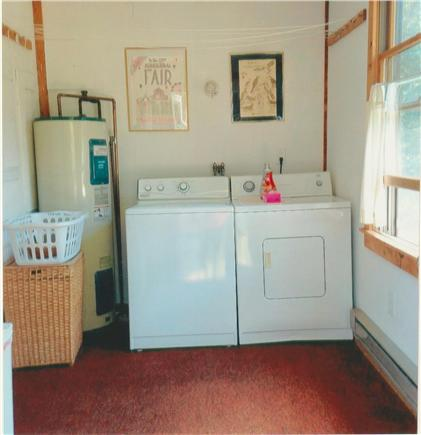 Edgartown Martha's Vineyard vacation rental - Laundry area and mudroom