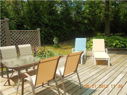 Vineyard Haven, West Chop Martha's Vineyard vacation rental - Spacious, open rear deck