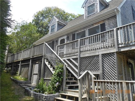Vineyard Haven, West Chop Martha's Vineyard vacation rental - Spacious home with upper & lower decks