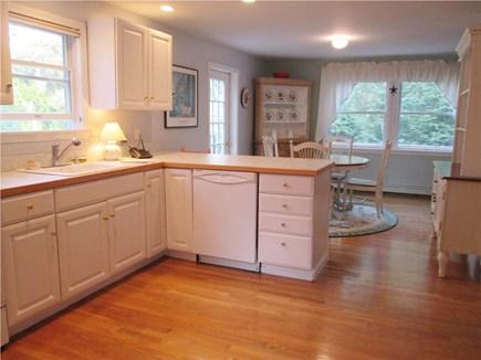 Vineyard Haven, West Chop Martha's Vineyard vacation rental - Open kitchen and dining area