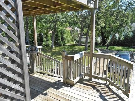 Vineyard Haven, West Chop Martha's Vineyard vacation rental - Lower deck