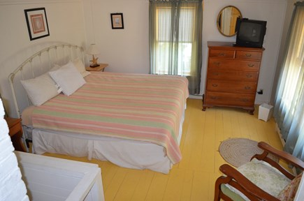 Oak Bluffs, East Chop Martha's Vineyard vacation rental - King bedroom in the rear of the house