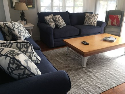 Oak Bluffs, East Chop Martha's Vineyard vacation rental - Living room with plenty of seating and natural light