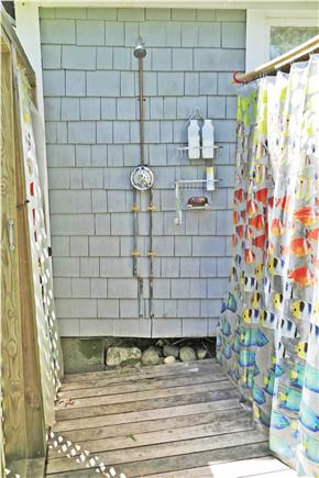 Oak Bluffs Martha's Vineyard vacation rental - Luxorious outdoor shower!