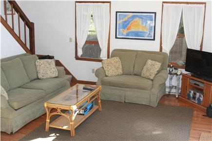Oak Bluffs Lagoon Pond area Martha's Vineyard vacation rental - Relaxing Living Room area with cable tv and internet